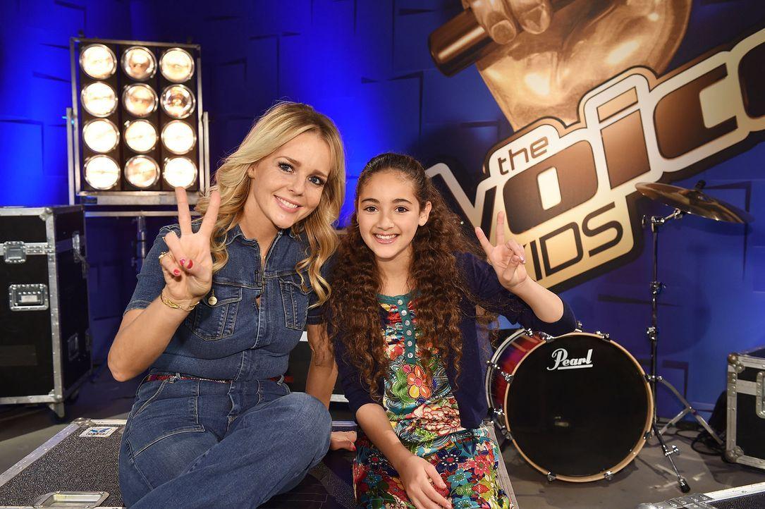 The-Voice-Kids-Stf04-Epi03-Hala-05-SAT1-Andre-Kowalski - Bildquelle: SAT.1/ André Kowalski