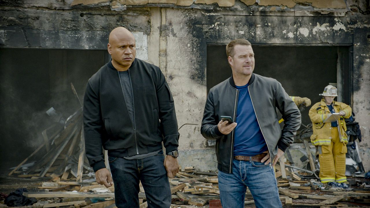 Sam Hanna (LL Cool J, l.); G. Callen (Chris O'Donnell, r.) - Bildquelle: 2020 CBS Broadcasting Inc. All Rights Reserved.