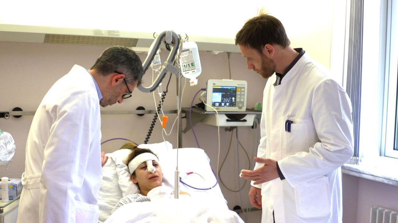 Rana (M.) stürzte mit zwölf Jahren in ein Metalltor und zog sich einen Splitterbruch der Nase zu. Beim darauffolgenden plastischen Eingriff wurde zu... - Bildquelle: SAT.1