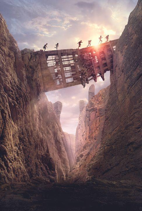 Maze Runner - Die Auserwählten in der Brandwüste - Artwork - Bildquelle: 2015 Twentieth Century Fox Film Corporation. All rights reserved.