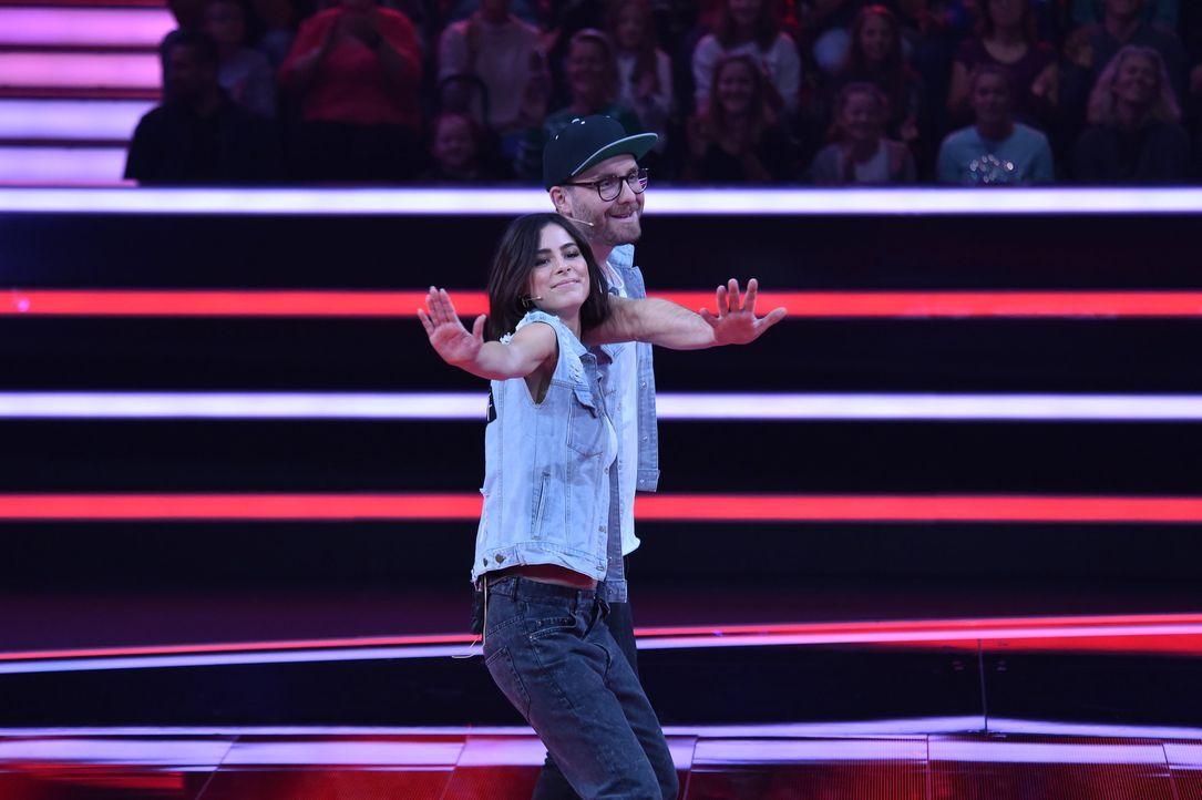 Lena und Mark in Jeans Jacken - Bildquelle: André Kowalski
