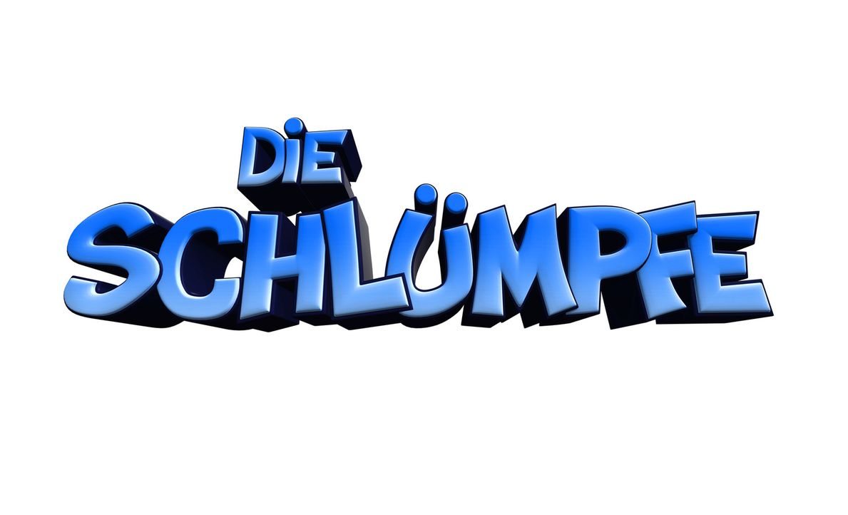 """""""Die Schlümpfe"""" - Logo - Bildquelle: 2011 Columbia Pictures Industries, Inc. and Hemisphere - Culver Picture Partners I, LLC. All Rights Reserved."""