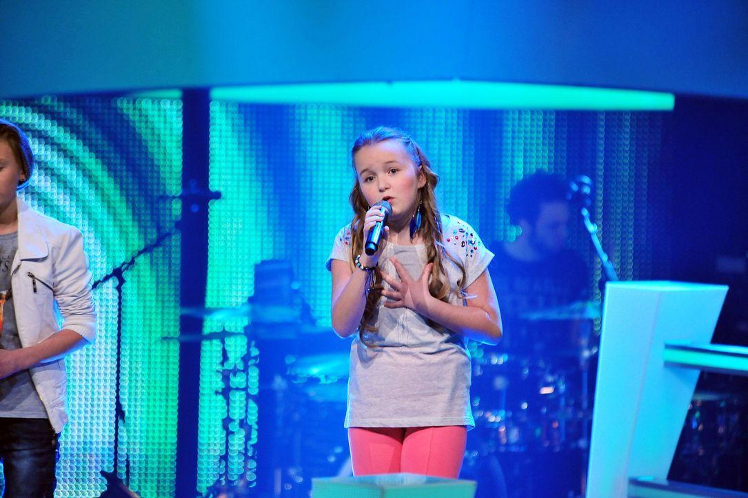 The-Voice-Kids-Stf02-Epi07-Vanessa-04-SAT1-Andre-Kowalski - Bildquelle: SAT.1/Andre Kowalski