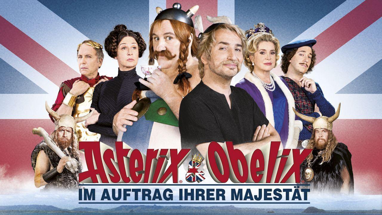 Asterix & Obelix - Im Auftrag Ihrer Majestät - Artwork - Bildquelle: LEONINE Studios