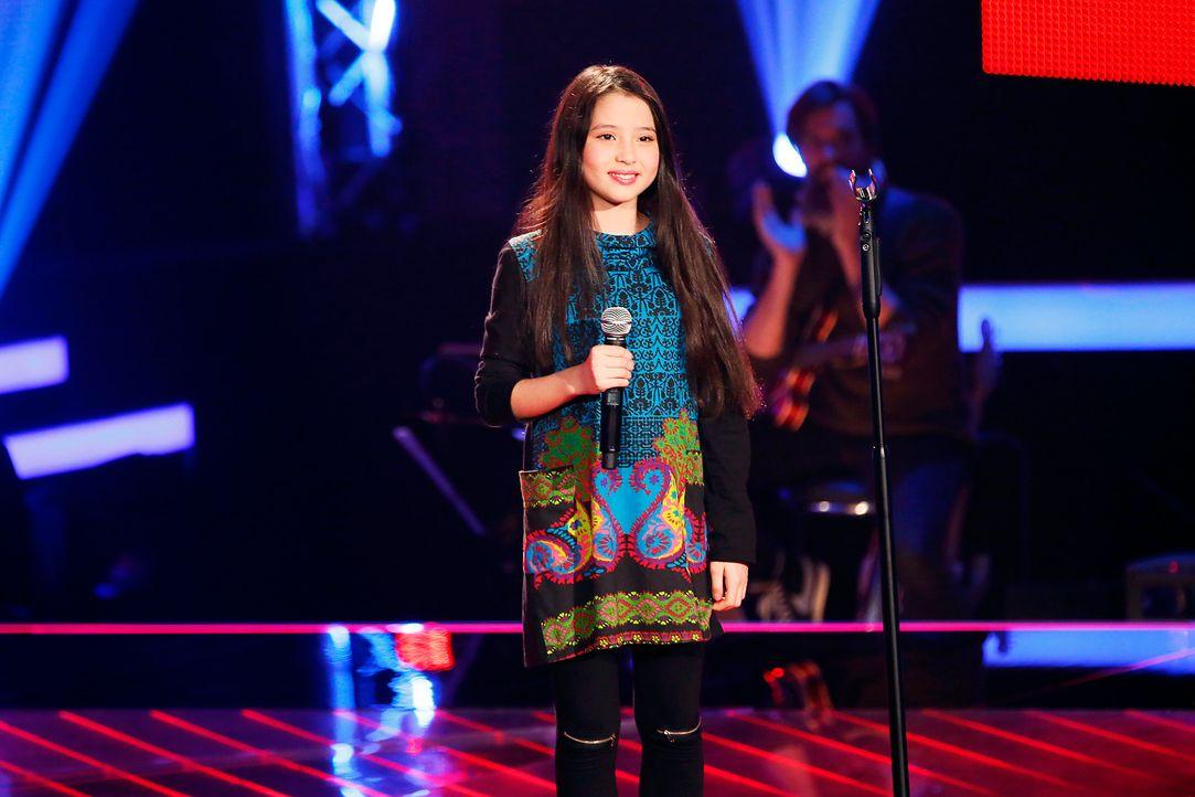The-Voice-Kids-Stf03-Epi03-Auftritte-Alina-SAT1-Richard-Huebner - Bildquelle: SAT.1/Richard Huebner