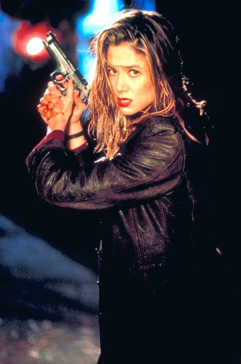 Meg Coburn (Mira Sorvino) hat außerordentliche Fähigkeiten ... - Bildquelle: Columbia Tri-Star