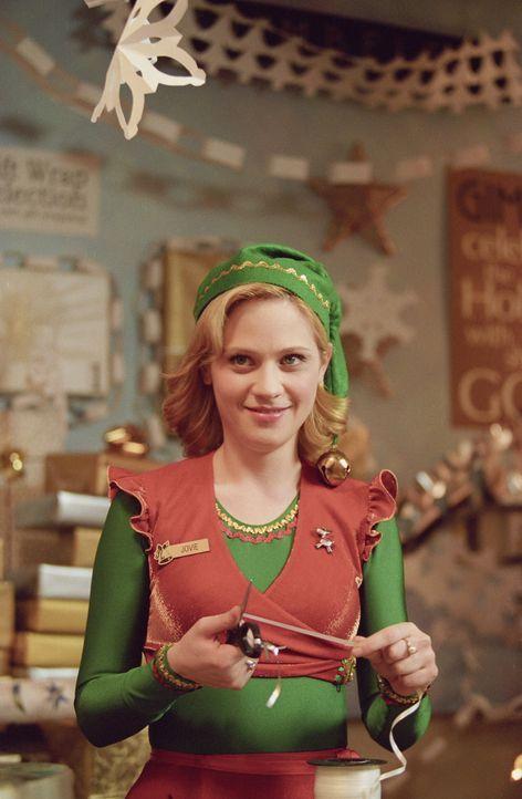 Steht Buddy bei, um den Menschen die Bedeutung von Weihnachten nahe zu bringen: Elfe Jovie (Zooey Deschanel) ... - Bildquelle: Warner Bros. Television