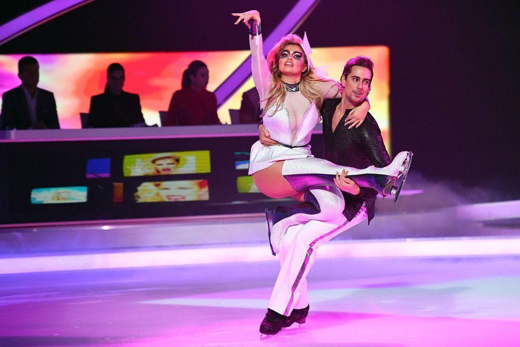 Sarina Nowak: Ausgefallener Eistanz zu Lady Gaga