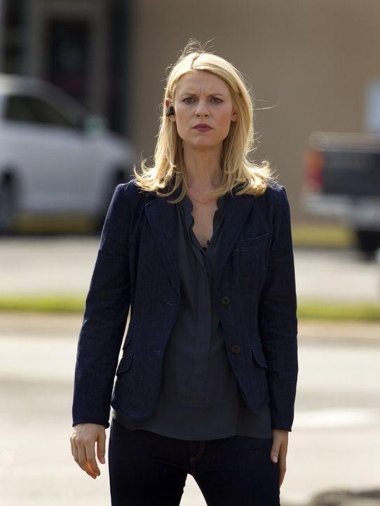 Versucht weiterhin herauszufinden, auf welcher Seite Brody steht: Carrie (Claire Danes) ... - Bildquelle: 20th Century Fox International Television