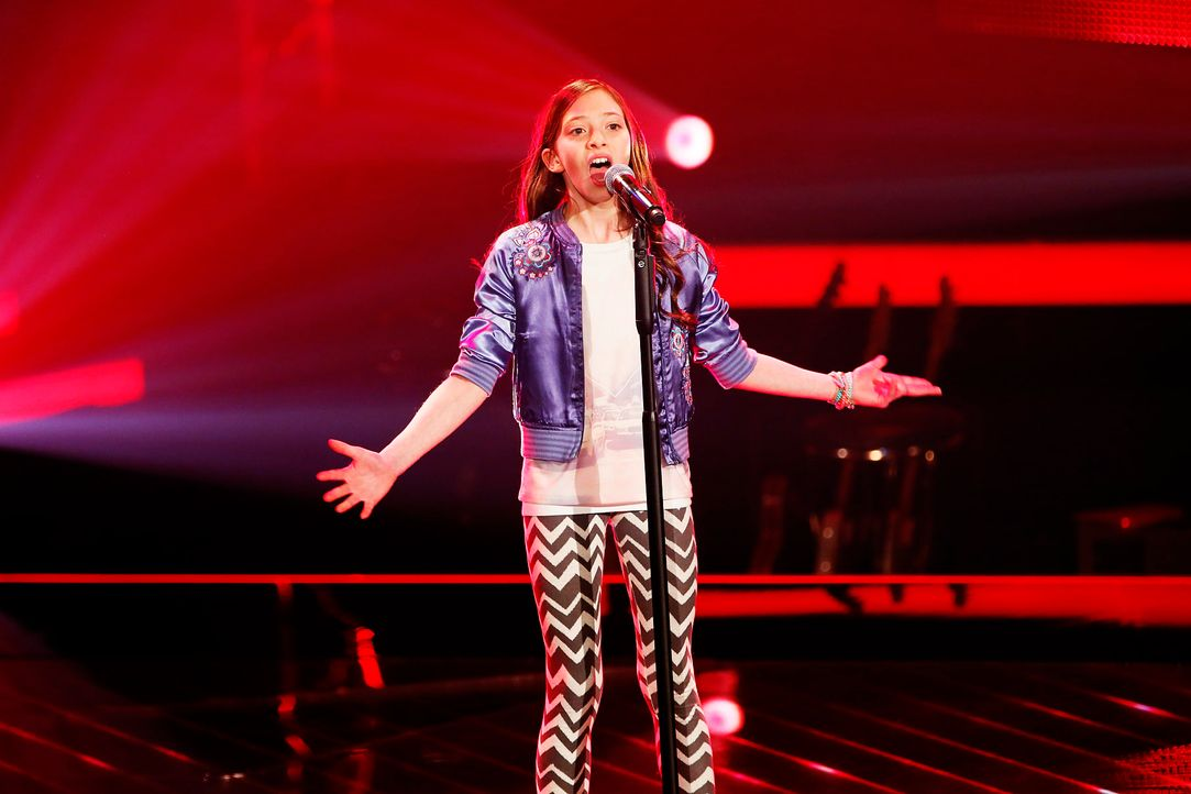 The-Voice-Kids-Stf03-Epi02-Danach-Lorena-4-SAT1-Richard-Huebner - Bildquelle: SAT.1/Richard Huebner