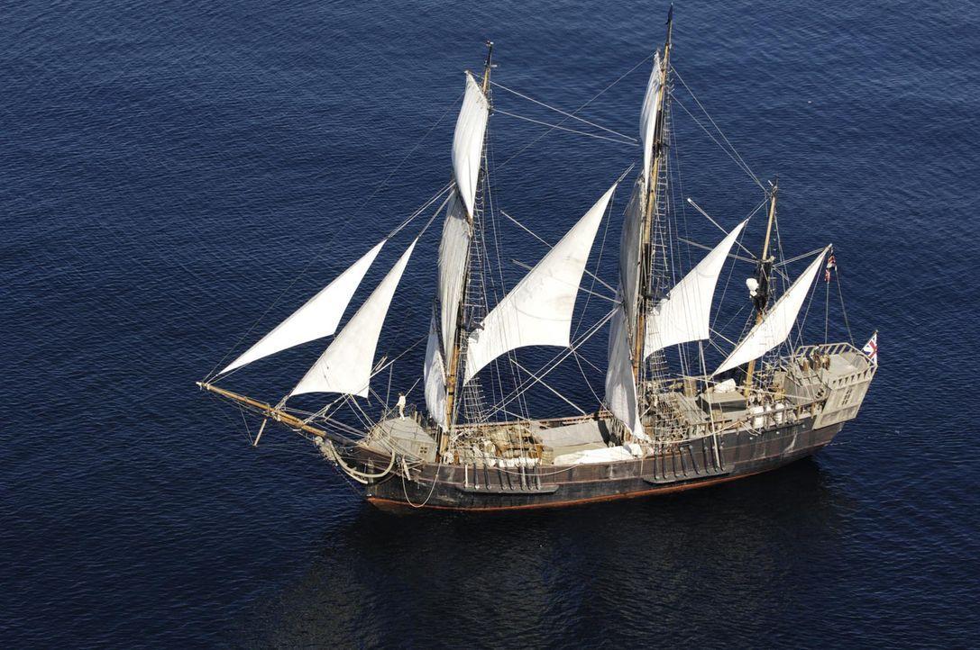 """Gehört zu der letzten aktiven Flotte klassisch-historischer Schiffe: die """"Earl of Pembroke"""" - Bildquelle: ProSieben"""