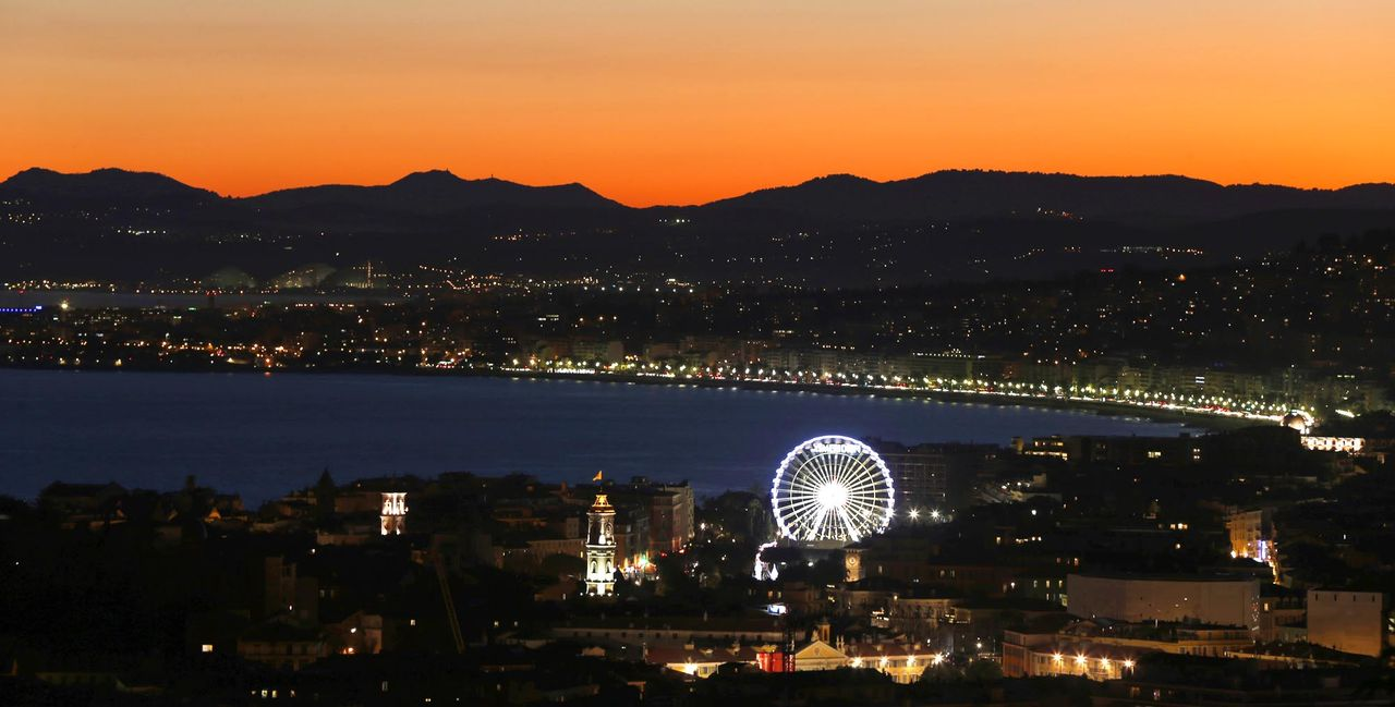 Nizza-Abendstimmung-AFP - Bildquelle: AFP Photo