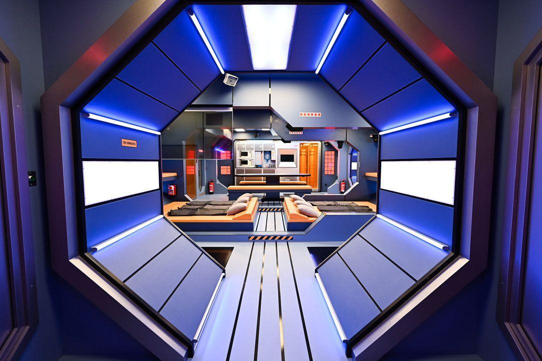 Promi Big Brother 2021 - Die ersten Fotos der Bereiche - 2272789 - Bildquelle: SAT.1/Willi Weber