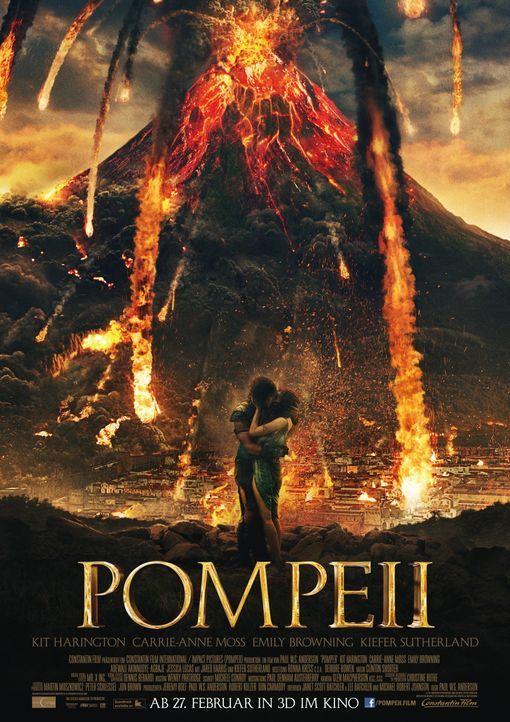 POMPEII - Plakat - Bildquelle: Caitlin Cronenberg 2014 Constantin Film Verleih GmbH / Caitlin Cronenberg