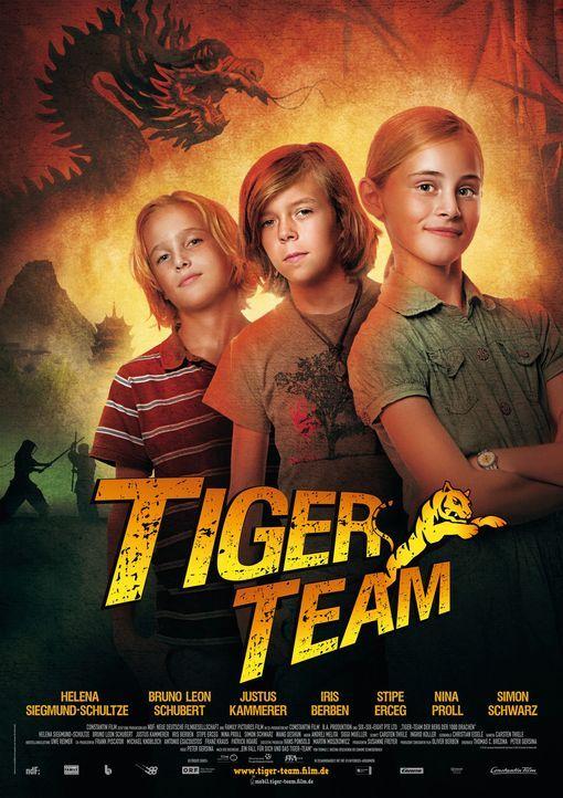 TIGER-TEAM - DER BERG DER 1000 DRACHEN - Plakat - Bildquelle: Constantin Film