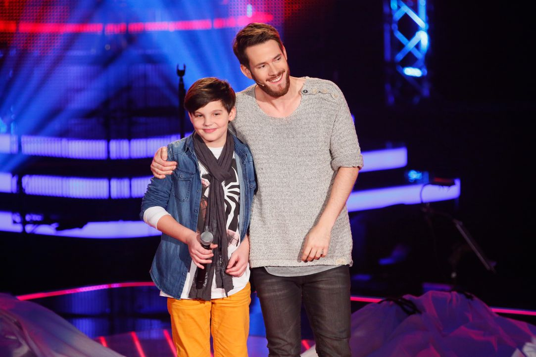 The-Voice-Kids-s03e01-danach-Malte-05 - Bildquelle: SAT.1/ Richard Hübner