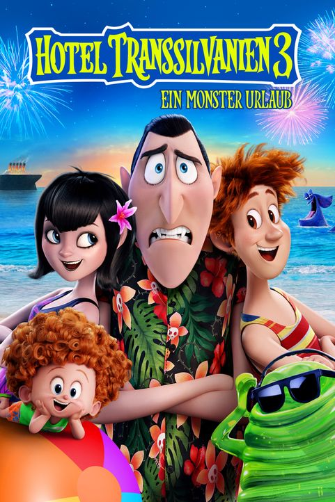 Hotel Transsilvanien 3 - Ein Monster Urlaub - Artwork - Bildquelle: 2018 Sony Pictures Animation Inc. and MRC II Distribution Company L.P. All Rights Reserved.