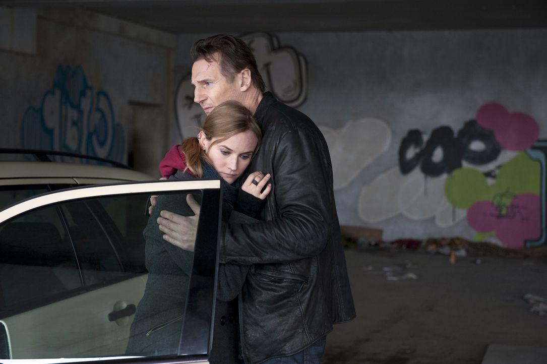 Gina (Diane Kruger, l.); Dr. Martin Harris (Liam Neeson, r.) - Bildquelle: Jay Maidment 2011 DARK CASTLE HOLDINGS, LLC/STUDIOCANAL S.A. / Jay Maidment