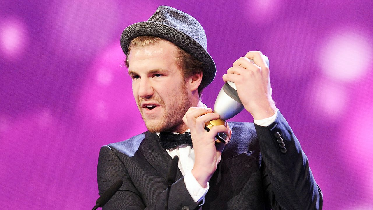 Comedypreis-2013-Luke-Mockridge-13-10-15-dpa - Bildquelle: Verwendung weltweit, usage worldwide
