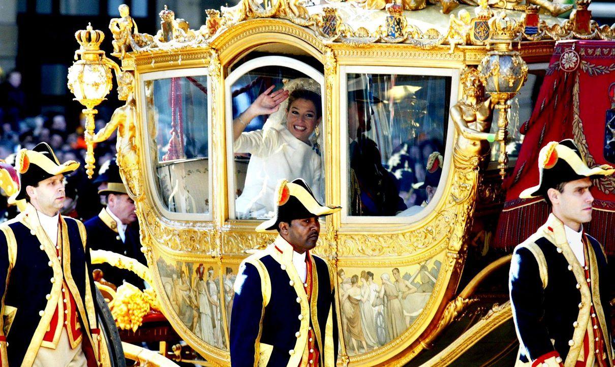Hochzeit-Kronprinz-Willem-Alexander-Prinzessin-Maxima-02-02-02-AFP - Bildquelle: AFP