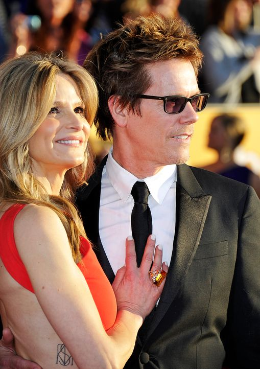 Schauspieler Kyra Sedgwick und Kevin Bacon bei den Screen Actors Guild Awards (SAG)  - Bildquelle: getty-AFP