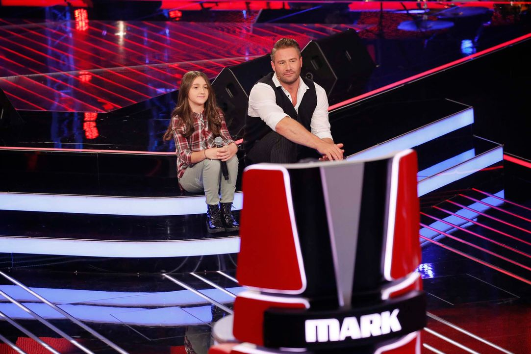 The-Voice-Kids-Stf04-Epi04-Danach-Sanie-13-SAT1-Richard-Huebner - Bildquelle: © SAT.1/ Richard Hübner
