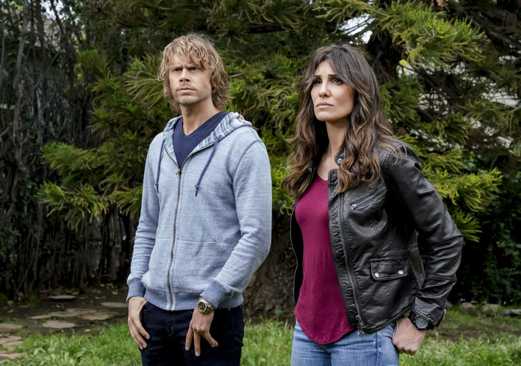 Marty Deeks (Eric Christian Olsen, l.); Kensi Blye (Daniela Ruah, r.) - Bildquelle: Bill Inoshita 2019 CBS Broadcasting, Inc. All Rights Reserved / Bill Inoshita
