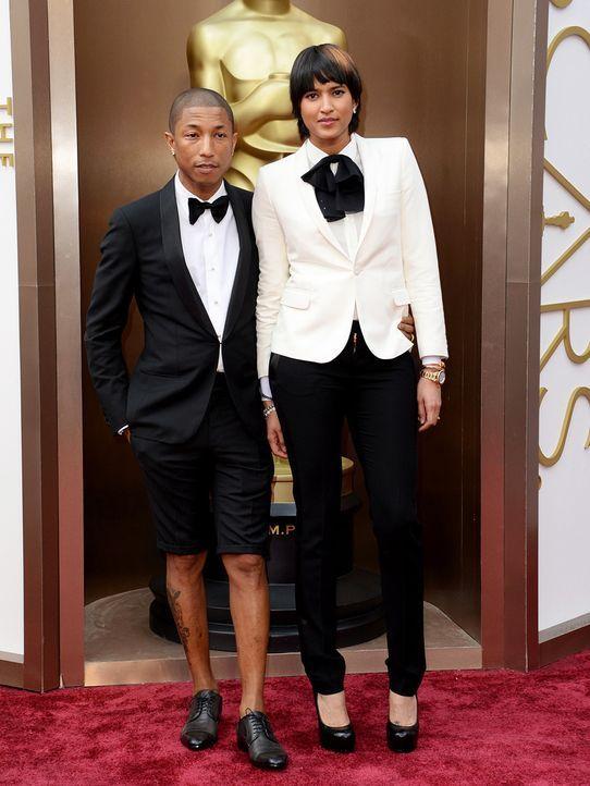 Pharrell-Williams-Helen-Lasichanh-14-03-02-AFP - Bildquelle: AFP