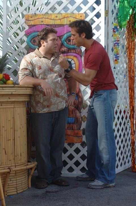 Kennen sich schon seit Kindertagen: Charlie (Dane Cook, r.) und Stu (Dan Fogler, l.) ... - Bildquelle: 2007 Lions Gate Films, Inc. All Rights Reserved.