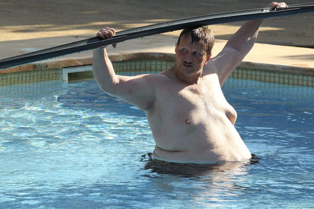 Auch Norbert kann der neuen Challenge einigen Spaß abgewinnen ... - Bildquelle: SAT.1/Enrique Cano