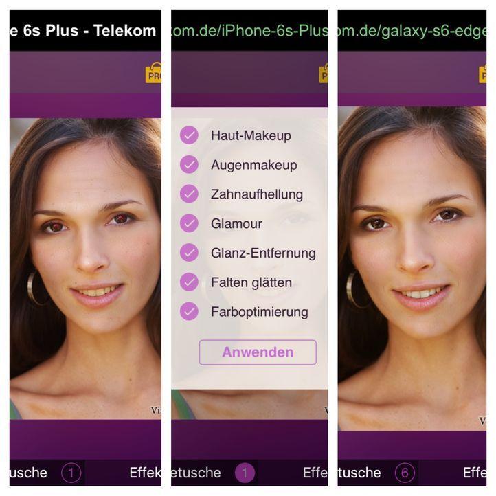 Visage Lab Diese App ist ein digitaler Schönheitschirurg. Es entfernt Pickel...