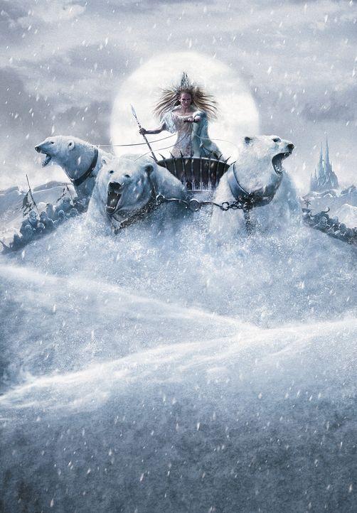 Aufgrund eines Fluches der weißen Hexe Jadis (Tilda Swinton) herrscht in Narnia ewiger Winter ... - Bildquelle: Disney Enterprises. All rights reserved