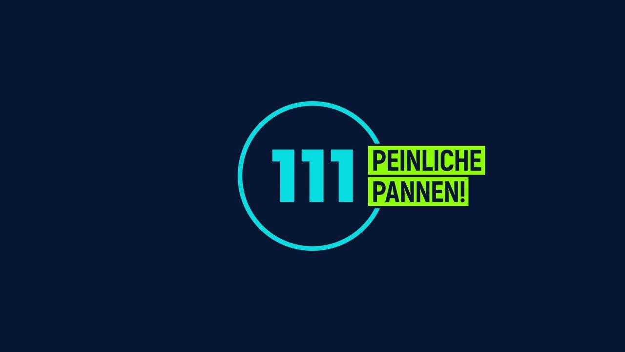 111 peinliche Pannen! - Logo - Bildquelle: SAT.1