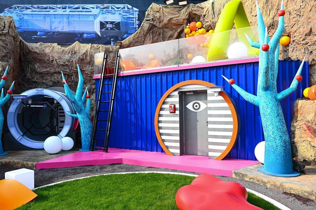 Promi Big Brother 2021 - Die ersten Fotos der Bereiche - 2272820 - Bildquelle: SAT.1/Willi Weber
