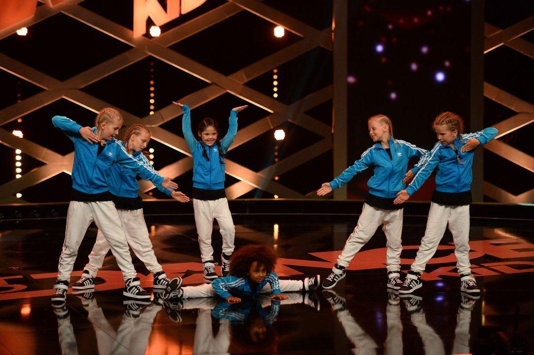 """Die """"Little Swaggers"""" wollen den Titel holen. Doch werden sie die Jury von ihrem Können überzeugen können? - Bildquelle: Willi Weber SAT.1"""