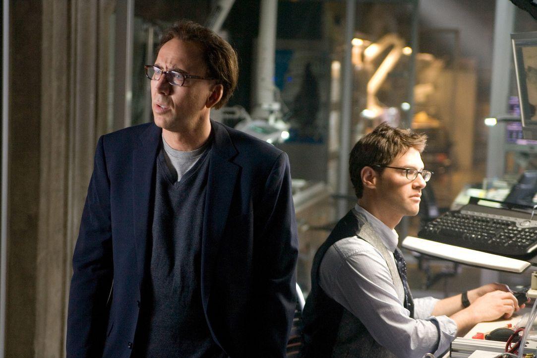 Ein eingespieltes Team: Riley Poole (Justin Bartha, r.) und Benjamin Franklin Gates (Nicolas Cage, l.) ... - Bildquelle: Disney Enterprises, Inc.  All rights reserved.