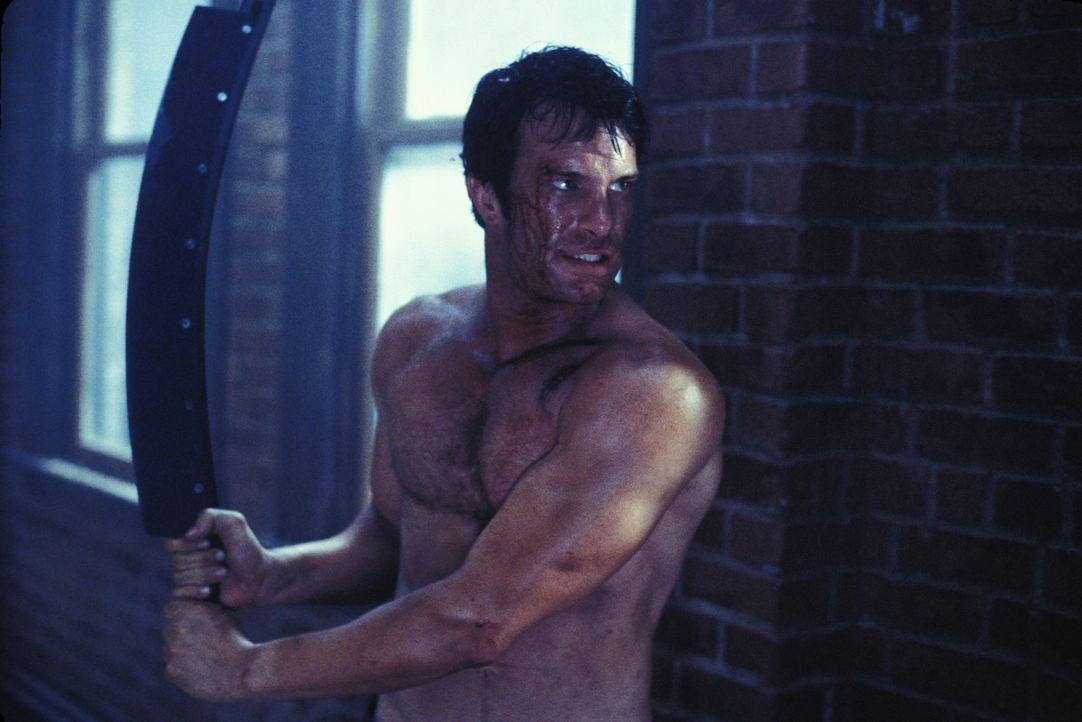 Nach dem grauenvollen Massaker an seiner gesamten Familie hat Frank Castle (Thomas Jane) nur noch ein einziges Ziel vor Augen: Er will die Verantwor... - Bildquelle: Sony Pictures Television International. All Rights Reserved.