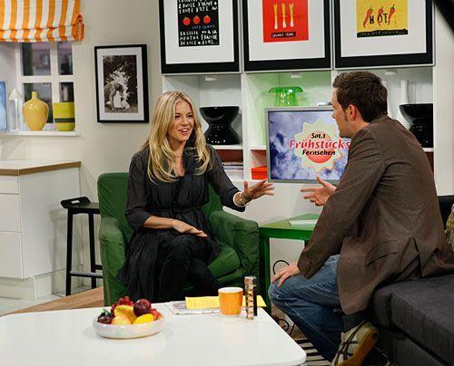 Bildergalerie Sienna Miller im Studio   Frühstücksfernsehen   Ratgeber & Magazine - Bildquelle: Ingo Gaus - Sat 1
