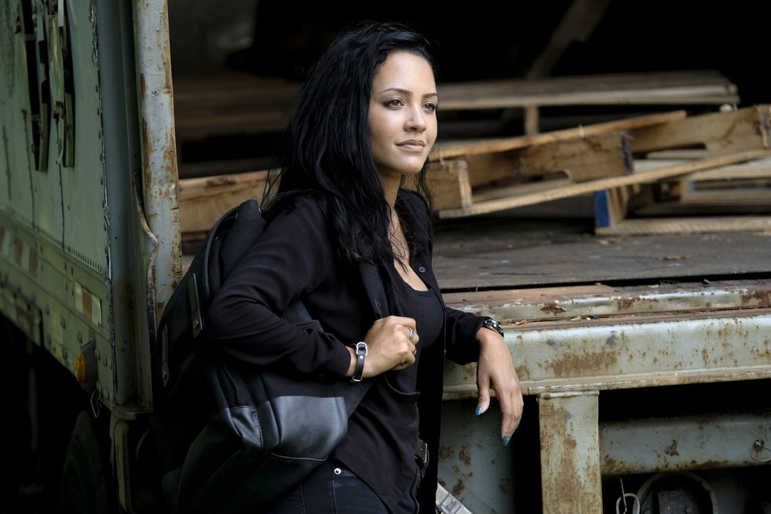 Riley Davis (Tristin Mays) - Bildquelle: Guy D'Alema 2018 CBS Broadcasting, Inc. All Rights Reserved.