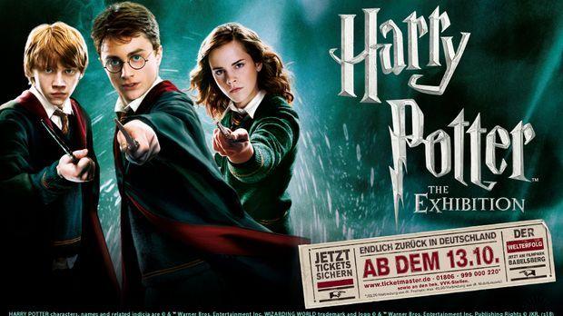 Gewinnspiel Harry Potter Ausstellung
