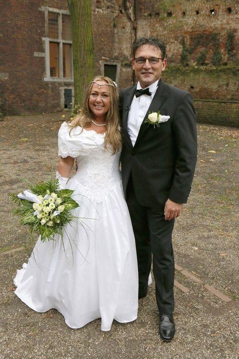 Ein spannender Tag wartet auf das Brautpaar Kröger, denn sie werden ihre Hochzeit noch einmal erleben ... - Bildquelle: SAT.1