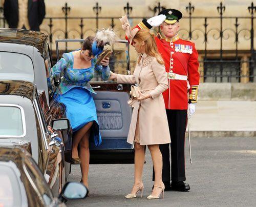 William-Kate-Westminster-Abbey-Princesses-of-York-Eugenie-Beatrice-11-04-29-500_404_AFP - Bildquelle: AFP