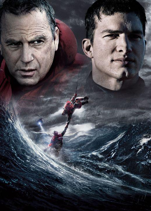 """""""Jede Sekunde zählt - The Guardian"""" - mit Kevin Costner, l. und Ashton Kutcher, r. in den Hauptrollen - Bildquelle: Ben Glass Touchstone Pictures. All rights reserved"""