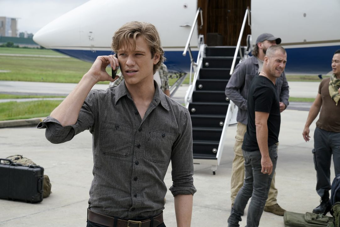 MacGyver (Lucas Till) - Bildquelle: Jace Downs 2018 CBS Broadcasting, Inc. All Rights Reserved.