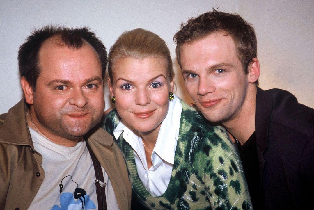 v.l.n.r.: Markus Majowski, Mirja Boes und Ralf Schmitz - Bildquelle: Sat.1