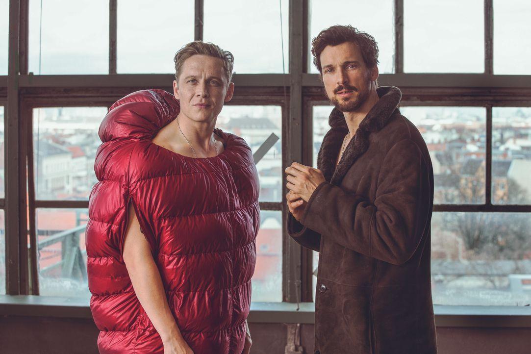 Toni (Matthias Schweighöfer, l.); Paul (Florian David Fitz, r.) - Bildquelle: 2018 Pantaleon Films GmbH / Warner Bros. Entertainment GmbH