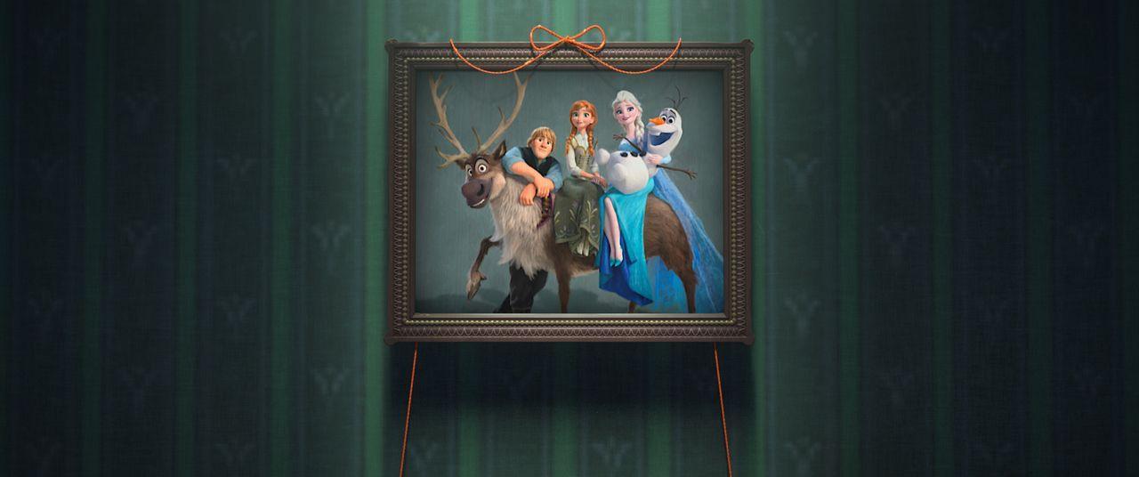 (v.l.n.r.) Sven; Hans; Anna; Elsa; Olaf - Bildquelle: Disney Enterprises, Inc.