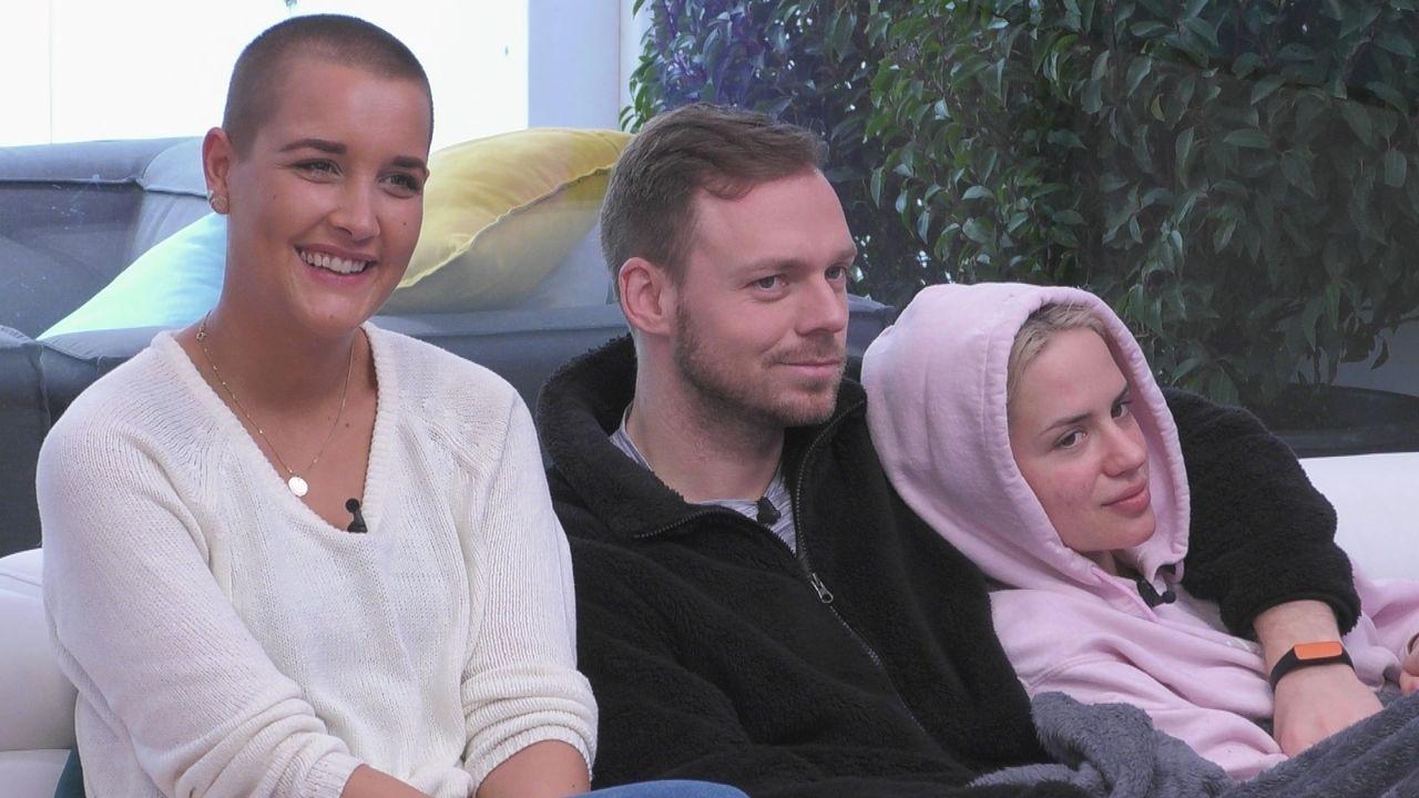 (v.l.n.r.) Michelle; Philipp; Gina - Bildquelle: SAT.1