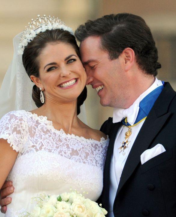 Die Heirat von Prinzessin Madeleine von Schweden und Chris O'Neill - Bildquelle: +++(c) dpa - Bildfunk+++Verwendung weltweit
