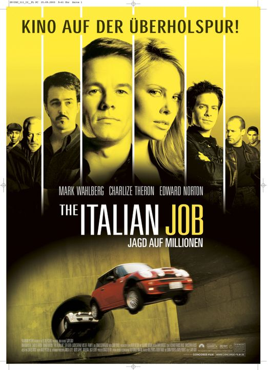 The Italian Job - Jagd auf Millionen - Bildquelle: TMG